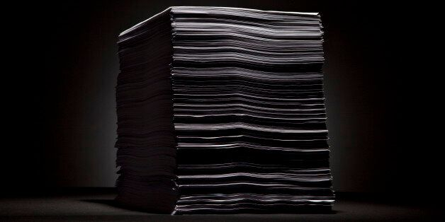 The 2,409 pages of H.R. 3590, the Patient Protection and Affordable Care Act, are displayed for a photograph in New York, U.S