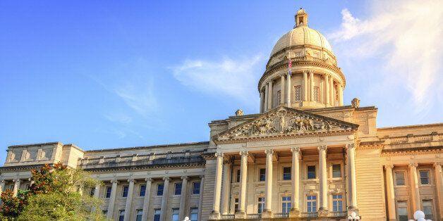 Capitol building in Frankfort, Kentucky