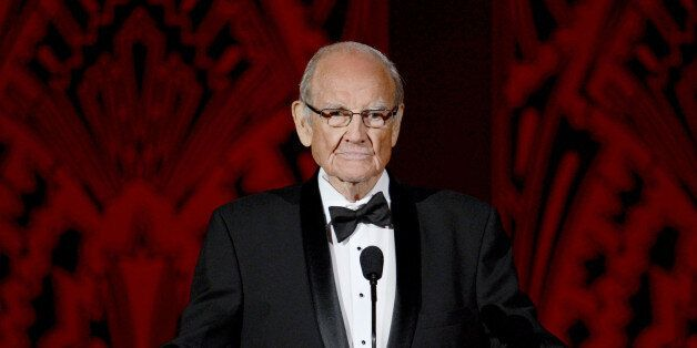 CULVER CITY, CA - JUNE 07:  Sen. George McGovern speaks onstage at the 40th AFI Life Achievement Award honoring Shirley MacLa