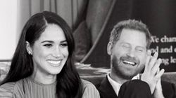 Meghan Markle And Prince Harry Can't Hide Their Smiles In New