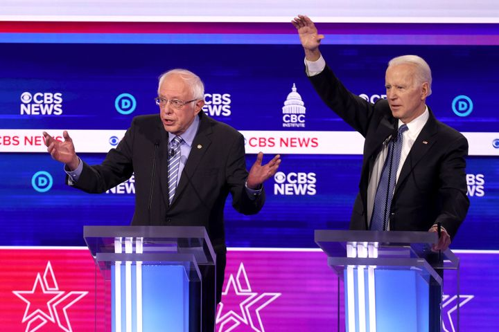 Sen. Bernie Sanders and frail Vice President Joe Biden each and every bear one thing to explain accurate by a presidential most important debate in Ch