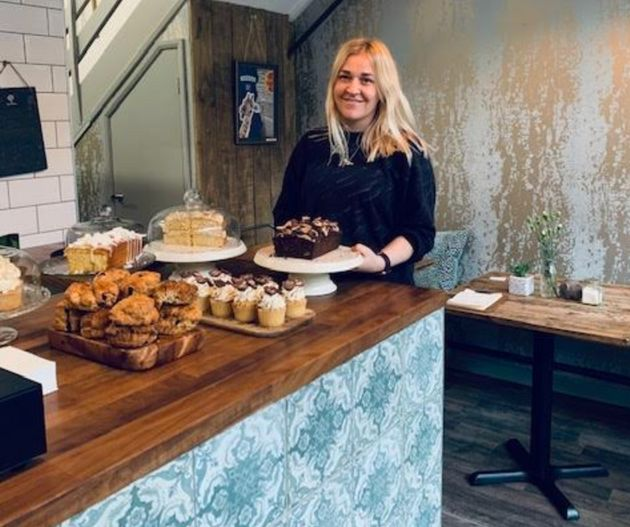 Harriet Gallimore, owner of The Cakery in Newcastle-under-Lyme in Staffordshire