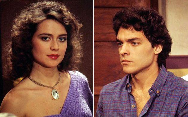 Cristina Mullins como Pituca e Paulo Castelli como Lepe em