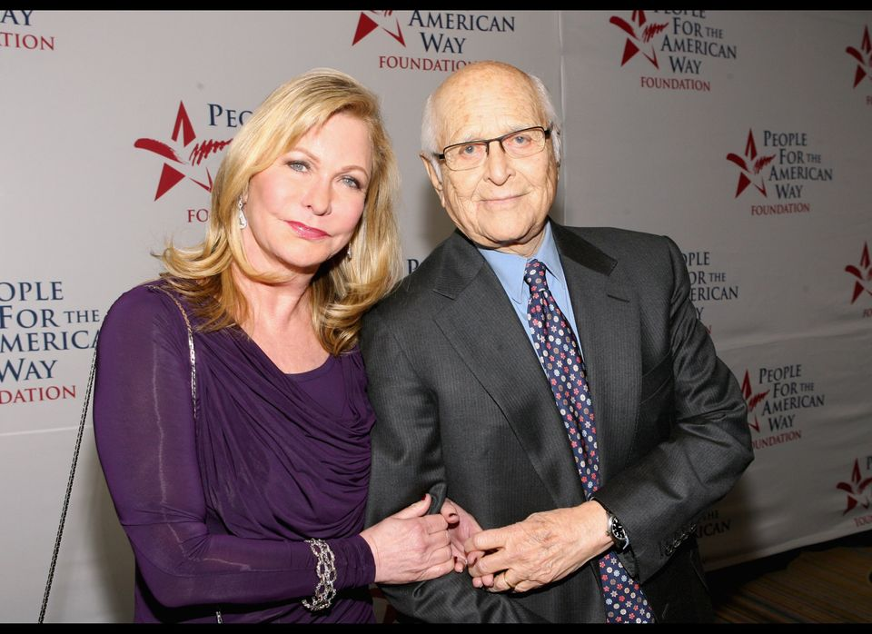 Lyn Lear and Norman Lear attend the 30th anniversary of People for the American Way Foundation, December 5, 2011, at the Beve