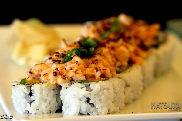 """Sure, you can say that most sushi is """"gluten-free"""" because rice is technically not gluten. Realistically however, the gluten"""