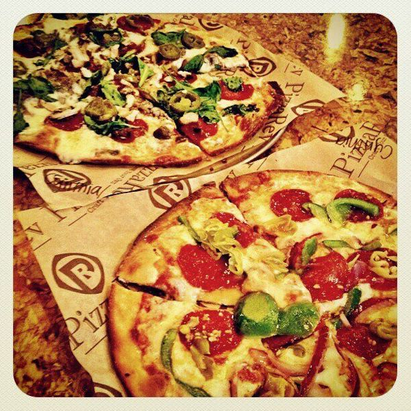 PizzaRev is all about crafting your own artisan pizza. Using only the freshest ingredients, you can design your own perfect p