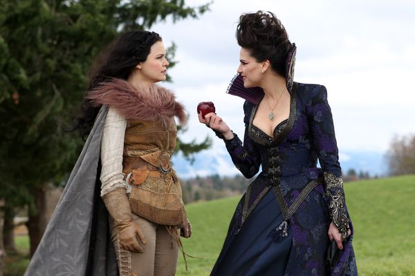 "The half- Puerto Rican star plays the Evil Queen from Snow White and Regina, the town mayor, in ABC's ""Once Upon A Time."" Her"