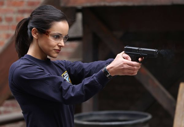 The star plays detective Amy Santiago on FOX's Brooklyn Nine-Nine. Fumero's character is the by-the-book cop who has a really