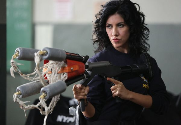 Also on FOX's Brooklyn Nine-Nine is Stephanie Beatriz, the Argentine actress who plays detective Rosa Diaz, the tough, leathe