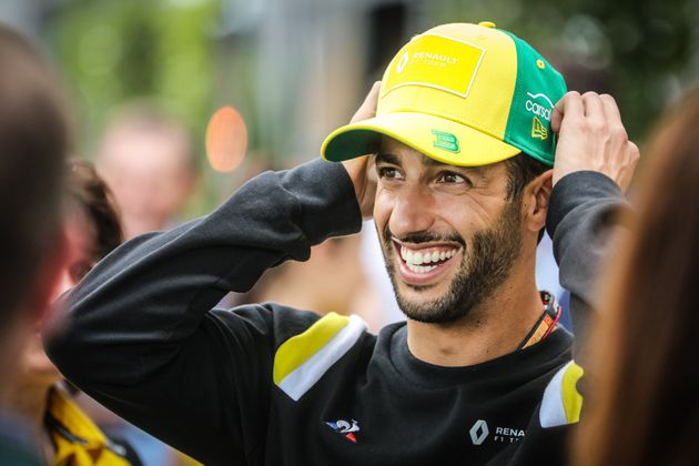 MELBOURNE, AUSTRALIA - MARCH 11 2020: Daniel Ricciardo of Renault DP World F1 Team before the 2020 Formula...