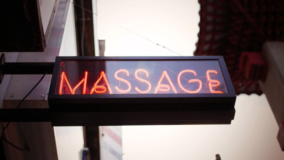 After the coronavirus outbreak surfaced in China -- but before the illness arrived in the U.S. -- massage parlors saw a signi