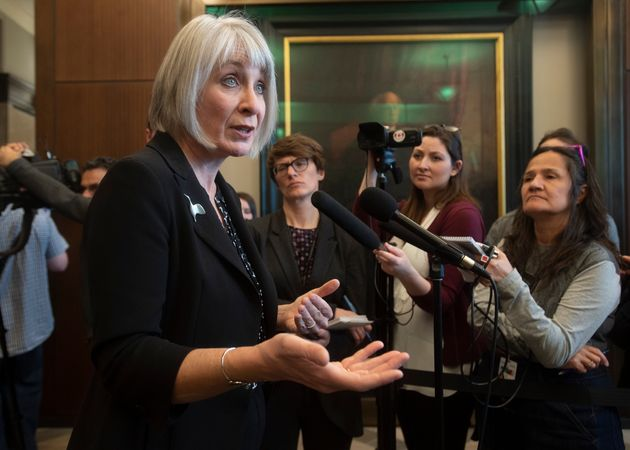 Minister of Health Patty Hajdu before Question Period in the House of Commons on March 11, 2020 in