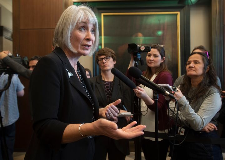 Minister of Health Patty Hajdu before Question Period in the House of Commons on March 11, 2020 in Ottawa.
