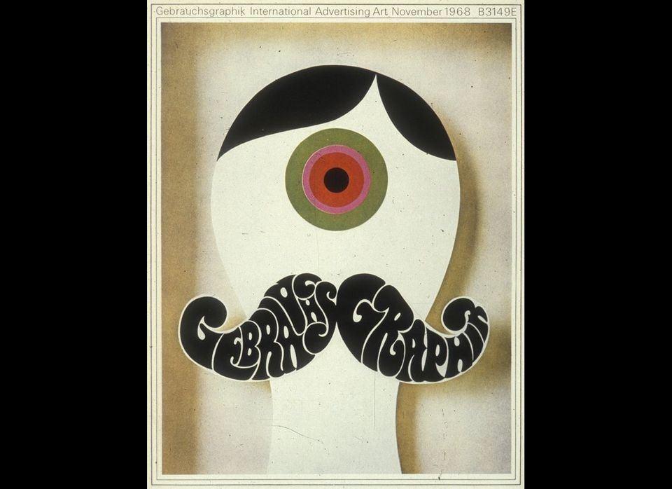 The language of the 1960s rock and drug artists became commonplace for graphics as well.