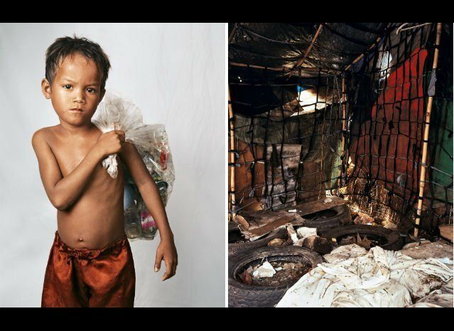 """Roathy is eight years old. He lives on the outskirts of Phnom Penh, Cambodia. His home sits on a huge rubbish dump which is"