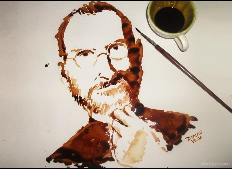 """Thanks Steve Jobs, for all your work and inspiring life. Here's my simple but sincere tribute,"" <a href=""http://www.dveiga.c"