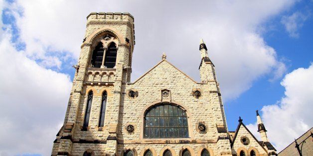 CHICAGO - APR 01:  The Second Presbyterian Church in Chicago, Illinois on APR 01, 2011.  (Photo By Raymond Boyd/Michael Ochs