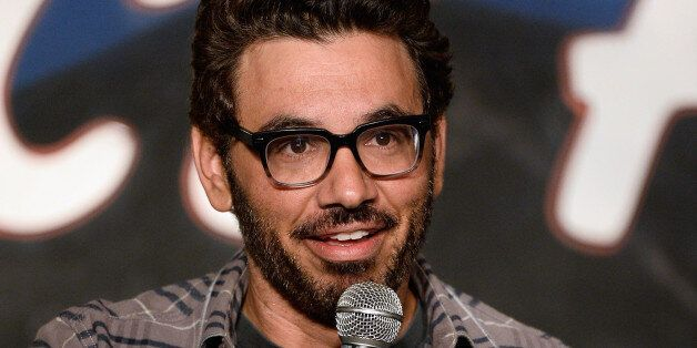 PASADENA, CA - JULY 18:  Comedian Al Madrigal performs during his appearance at The Ice House Comedy Club on July 18, 2014 in