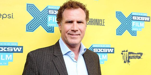 AUSTIN, TX - MARCH 16:  Will Ferrell poses on the red carpet for 'Get Hard' during the South by Southwest Film Festival at th