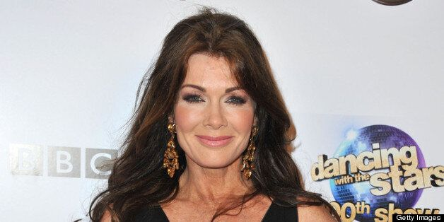 HOLLYWOOD, CA - MAY 14: TV personality Lisa Vanderpump arrives at ABC's 'Dancing With The Stars' 300th Episode Celebration at Boulevard3 on May 14, 2013 in Hollywood, California. (Photo by Angela Weiss/Getty Images)