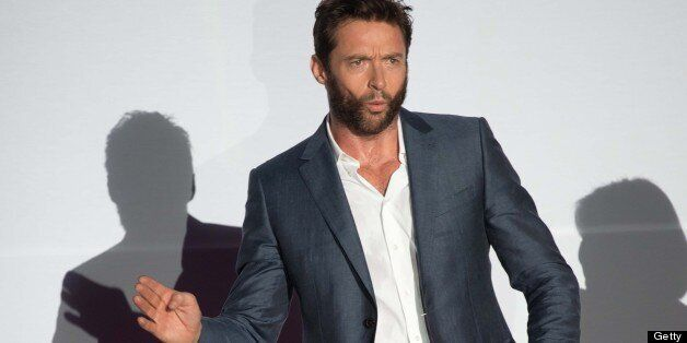 Hollywood actor Hugh Jackman of Australia attends a red carpet event at the premiere of his new film 'Wolverine' in Seoul on