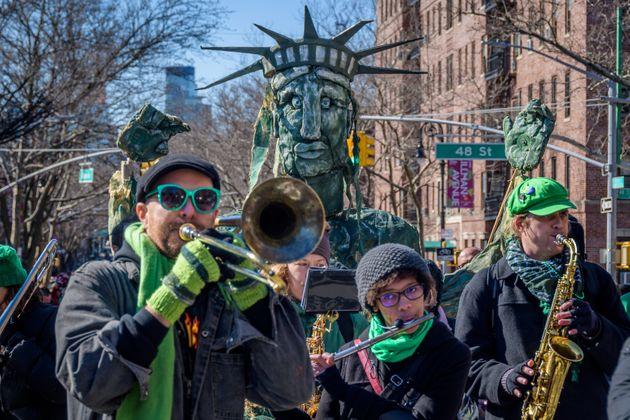 Some events, such as the St Pat's for All celebration in New York, have already gone ahead.