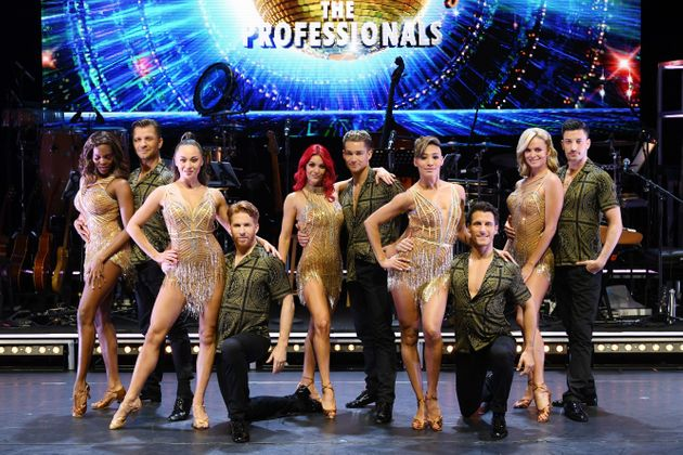 The cast of the Strictly: The Professionals tour in 2019, including former dancer Pasha