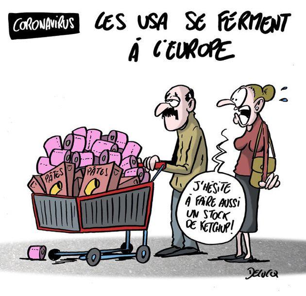 Les Français paniquent plus pour les courses que pour le