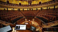 El Congreso suspende 15 días su actividad por el