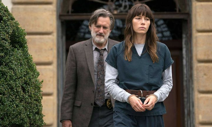 Jessica Biel y Bill Pullman en 'The Sinner'.