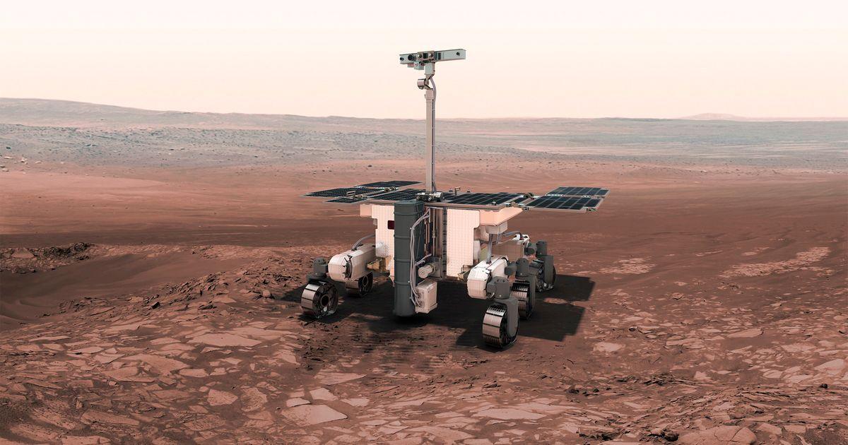 Mars: la sonde européenne ne partira finalement pas avant 2022