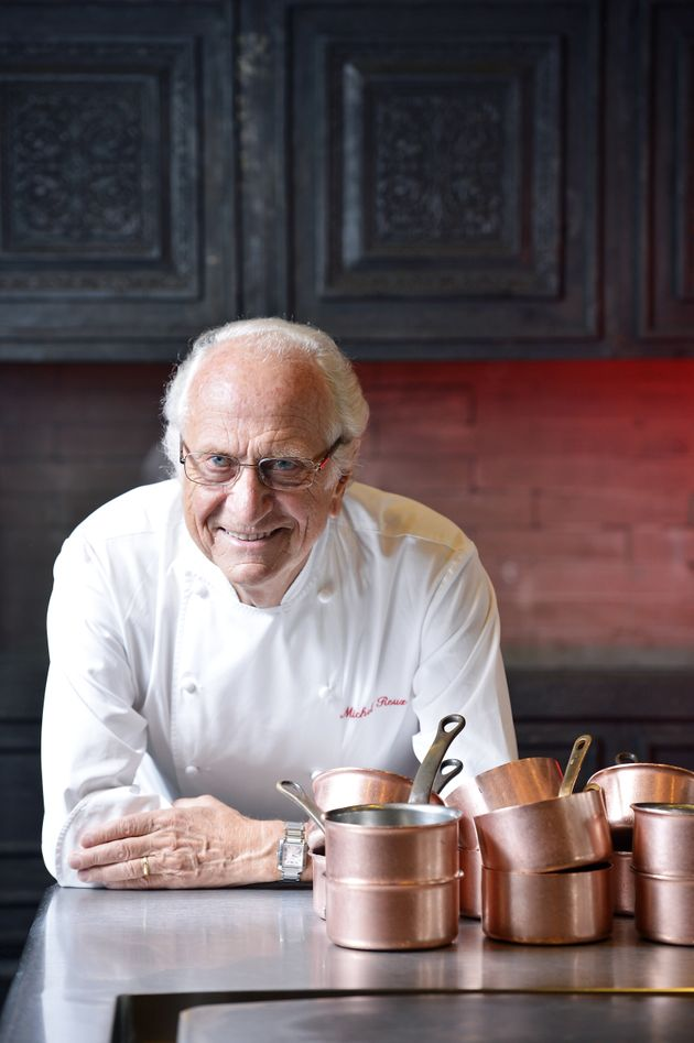Chef Michel Roux pictured in