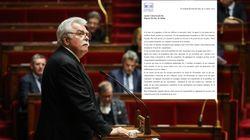 Le chef des députés communistes André Chassaigne testé positif au