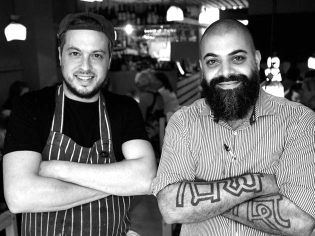 Dominic Borel (right) is the director of several of Bristol's most popular