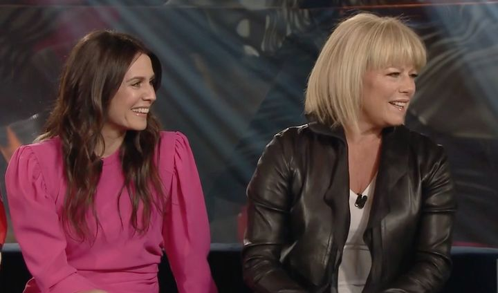 Mélissa Désormeaux-Poulin et Suzanne Pringle à «La semaine des 4 Julie».
