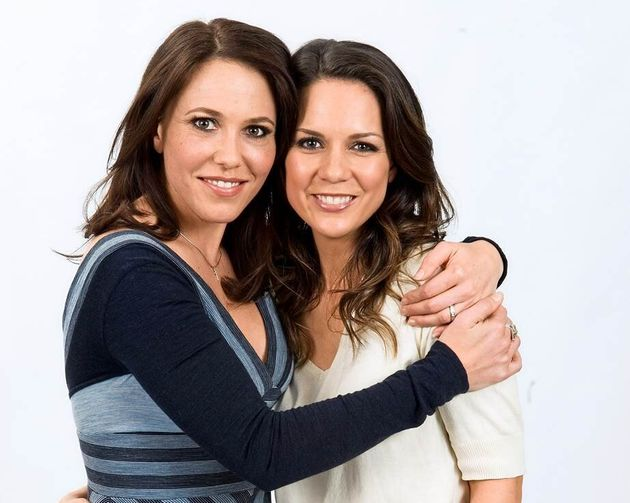 Kym Valentine (left) and Michala Banas both played Libby in
