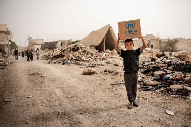 Hoje, mais de 12 milhões de sírios estão em situação de deslocamento....