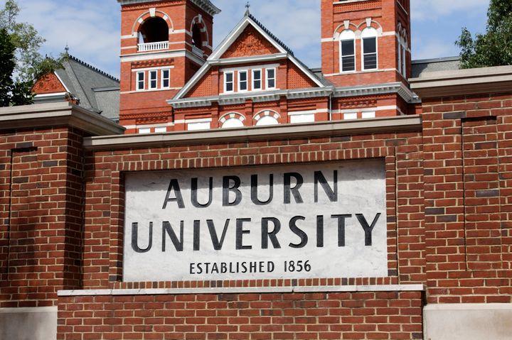 Auburn, AL, USA – June 17, 2012: Auburn University located in Auburn, Alabama. Auburn University is a public research univers