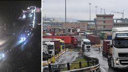 Il porto di Genova al collasso: sospese le attività nel primo molo italiano. E Vienna alza un muro di tir al