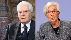 Mattarella striglia Lagarde e chi in Europa blocca i