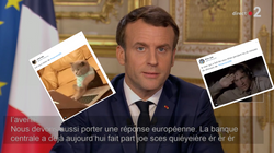 Les sous-titres de l'allocution de Macron valaient le