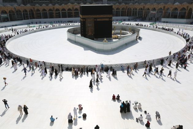 Saudi authorities this week suspended the year-round umrah pilgrimage, during which worshippers circle...