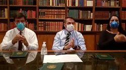 Após minimizar coronavírus, Bolsonaro pede adiamento de protestos do dia