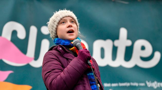 スウェーデンの環境活動家 グレタ・トゥーンベリさん