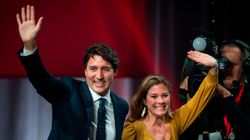 Justin Trudeau's Wife Tests Positive For