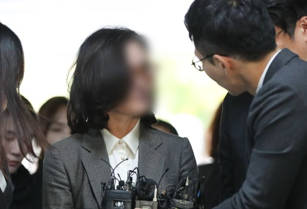 조국 전 법무부장관의 배우자 정경심 동양대