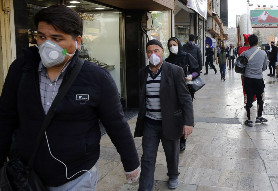 Iran has been accused of failing to reveal the true extent of the spread of