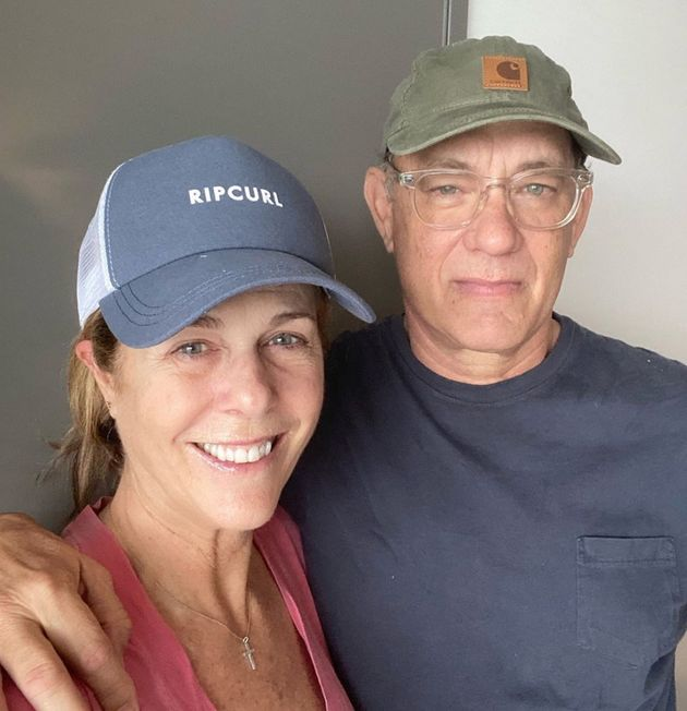Tom Hanks and Rita Wilson tested positive for