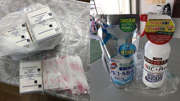 시(市)정부가 마스크 배포 제외한 조선학교에 일본 시민들이 마스크와 소독제를