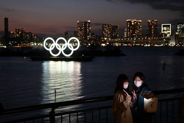 도쿄 오다이바의 올림픽